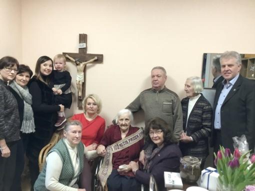 "100 metų sulaukusi kuršėniškė Bronė Vyšniauskienė: ""Gyvenimas yra gražus"""