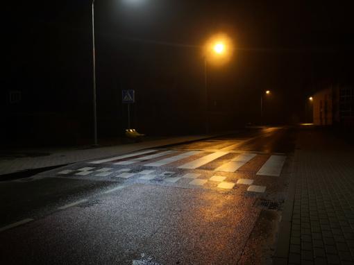 Naktį eismo sąlygas sunkins plikledis ir lijundra