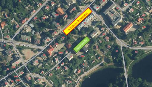 Laikinai bus uždaryta automobilių aikštelė Vilniaus gatvėje