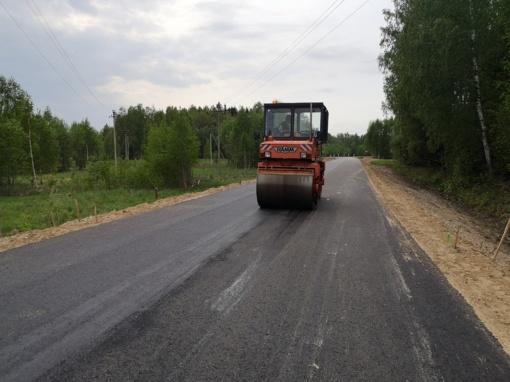 Anykščių rajonui mažėja lėšos kelių asfaltavimui