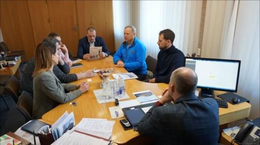 Diskutuota dėl viešųjų erdvių paslaugų stotelės įrengimo Ukmergėje