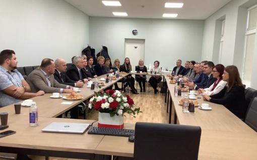Savivaldybės delegacijos vizitas Kelmės ir Palangos savivaldybėse
