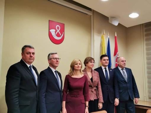 """Regioninės integracijos projektas """"Tauragė+"""" aptartas su Vidaus reikalų ministre"""