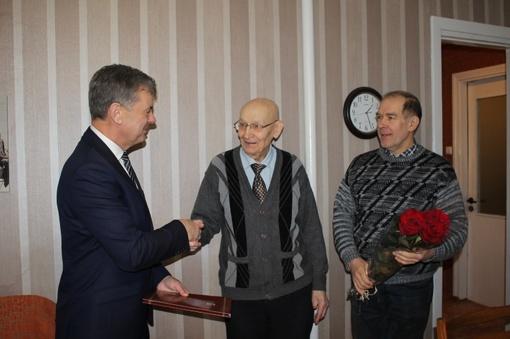 Garbingi 95-ių metų jubiliejai Telšiuose