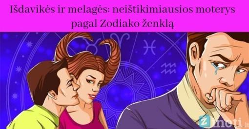 Išdavikės ir melagės: neištikimiausios moterys pagal Zodiako ženklą