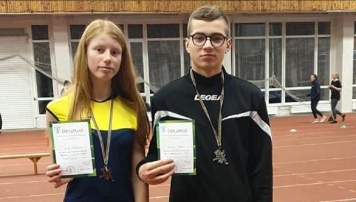 Vilkaviškio rajono sportininkai sėkmingai dalyvavo Jaunučių lengvosios atletikos čempionate