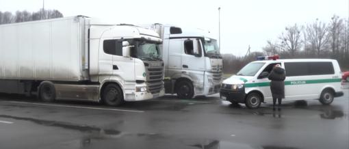 Kauno rajone sunkvežimyje rastas negyvas jo vairuotojas (vaizdo įrašas)