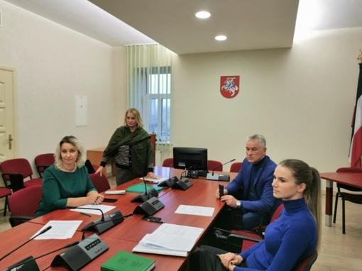 Pagėgiuose įvyko Jaunimo reikalų tarybos pirmasis posėdis