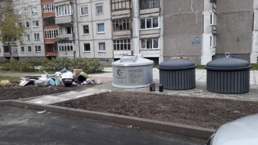 """Atliekų tvarkymas – ne tik atliekų tvarkytojų UAB """"Visagino būstas"""" ir UAB """"Ekobazė"""" rūpestis"""
