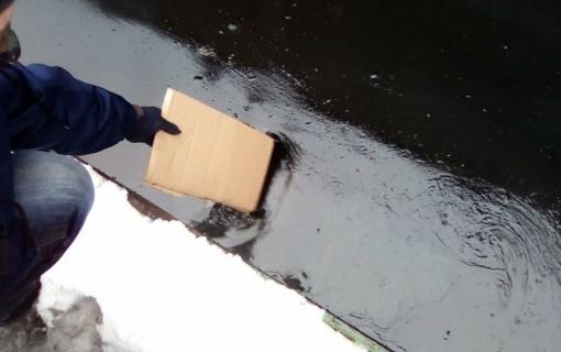 Vilniaus šilumos tinklų specialistai neutralizavo mazuto plitimo židinį