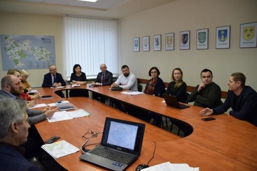 Susitikime aptarti magistralinio dujotiekio, sujungsiančio Lietuvą ir Lenkiją, statybos darbai savivaldybės teritorijoje