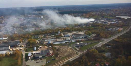 Alytaus gaisro pamokos: siūloma lengviau skelbti valstybinę ekstremalią situaciją