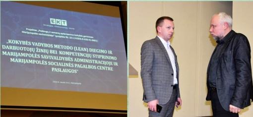 Paslaugų ir asmenų aptarnavimo kokybės gerinimas Marijampolės savivaldybėje