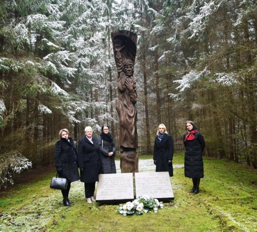 Trakuose pagerbtas Holokausto aukų atminimas