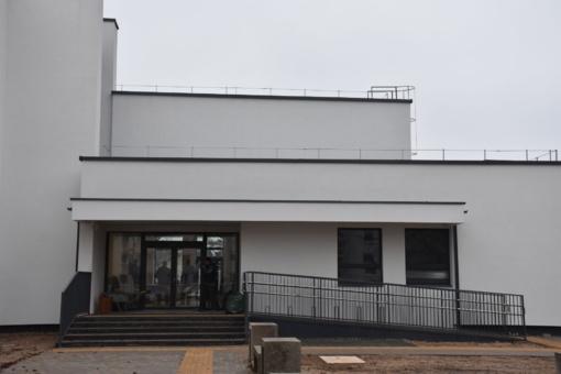 Varėnos J. Čiurlionytės menų mokyklos ir Moksleivių kūrybos centro pastato rekonstrukcijos darbai artėja į pabaigą
