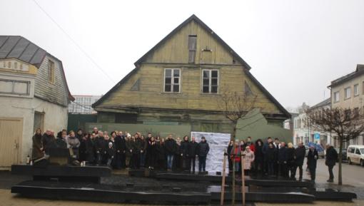 Jurbarkas prisiminė Holokausto aukas ir pasmerkė genocidą