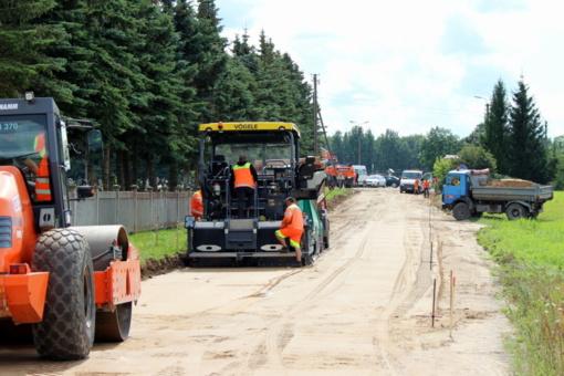 Žvyrkeliam asfaltuoti – dvi dešimtys milijonų