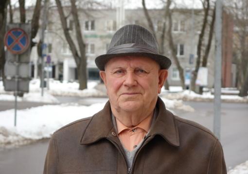 Antanui Krušnauskui siūloma suteikti Šilutės Garbės piliečio vardą
