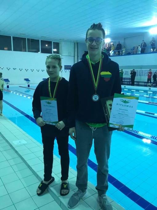 Iš Kauno plaukikai parvežė du medalius