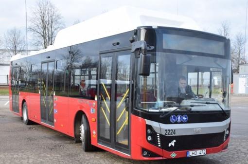 Panevėžys atsinaujina! Į gatves išrieda nauji ekologiški autobusai