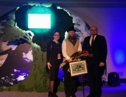 """Tarptautinėje turizmo parodoje """"ADVENTUR 2020"""" – apdovanojimai Pakruojui"""
