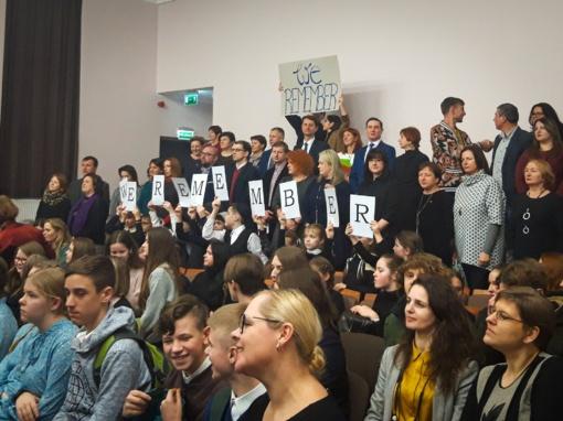 Tarptautinės Holokausto aukų atminimo dienos atgarsiai Raseinių krašte