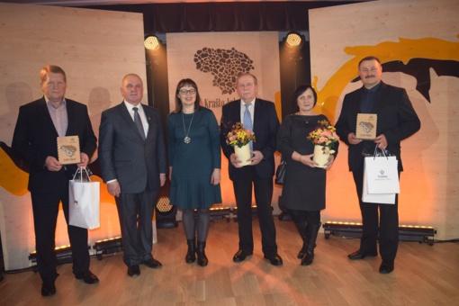 """Konkurso """"Krašto auksas"""" apdovanojimai įteikti Norgėlų ir Žaiginio kaimo bendruomenėms"""