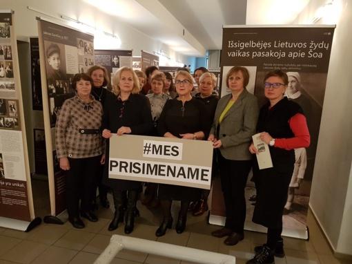 Raseinių rajono mokyklų bibliotekininkės paminėjo Tarptautinę Holokausto dieną