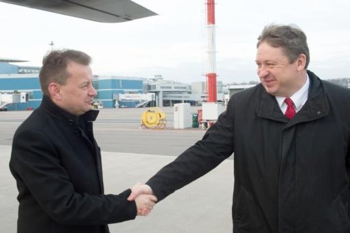 Vilniuje vyks pirmoji Lietuvos ir Lenkijos gynybos ministrų taryba