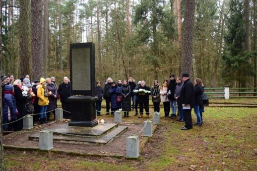 Panevėžio rajone paminėta Tarptautinė holokausto aukų atminimo diena