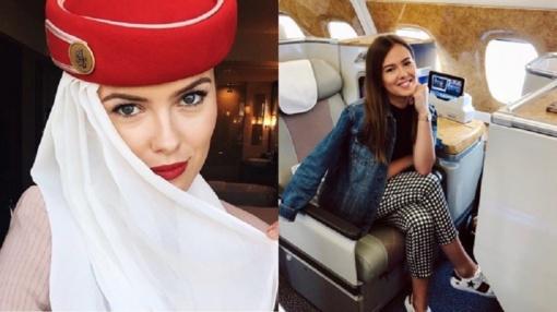 """Lietuvė parodė darbo """"Emirates Airlines"""" užkulisius"""