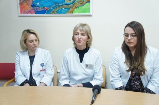 Respublikinėje Šiaulių ligoninėje gydyti du kūdikiai, susirgę kokliušu