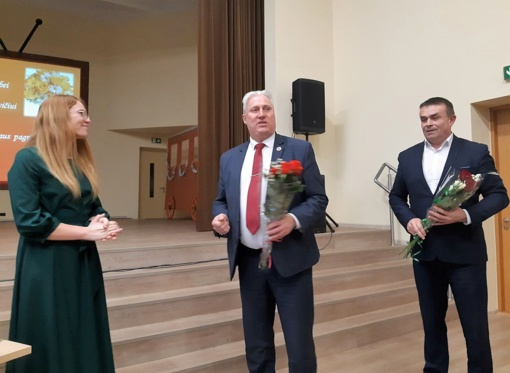 Biržų meras dalyvavo Pačeriaukštės bendruomenės susirinkime