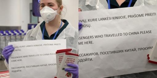 Studentas kinas į Lietuvą atvyko iš koronaviruso židinio zonos