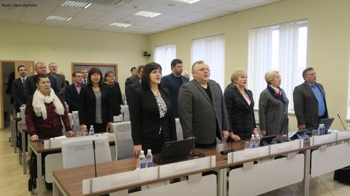 Šiaulių rajono savivaldybėje pirmasis 2020 metų posėdis