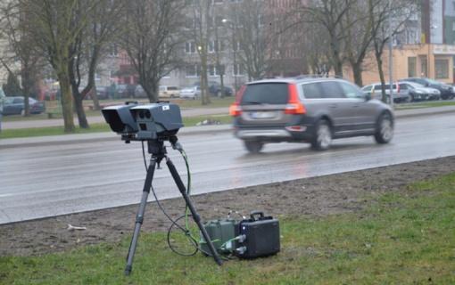 Pagal ką nustatomos greičio kontrolės vietos Šiaulių mieste?