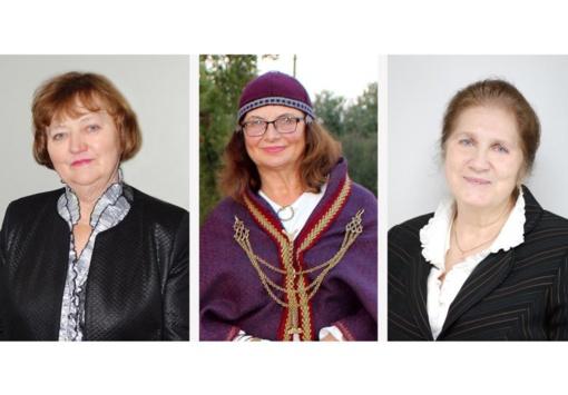 Garbės ženklai – trims Mažeikių rajoną garsinančioms moterims