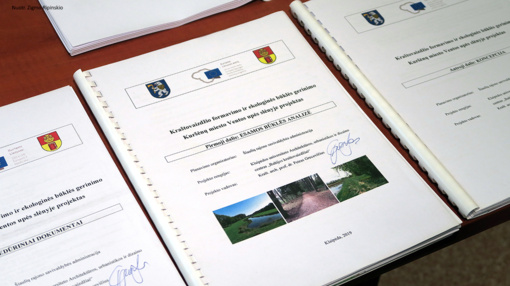 Parengtas Ventos upės slėnio Kuršėnų mieste kraštovaizdžio tvarkymo projektas