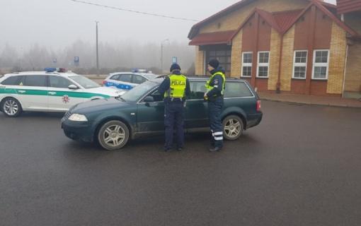 Bendras Marijampolės Kelių policijos patruliavimas su Lenkijos kolegomis