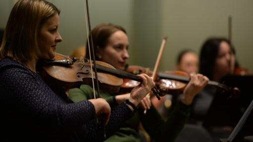 Kauno miesto simfoninis orkestras rengiasi didžiosioms gastrolėms JAV