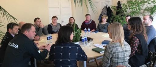 Susitikimas su Liubavo seniūnijos bendruomenės nariais