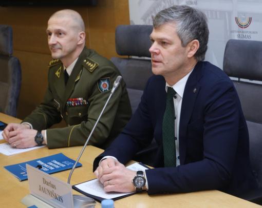Seime bus pristatytos naujausios grėsmės nacionaliniam saugumui