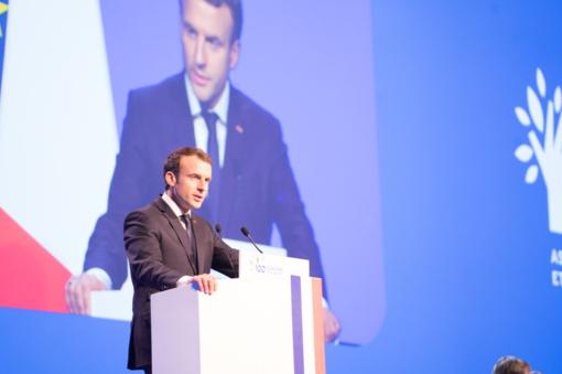 Prancūzijos prezidentas E. Macronas siekia pakeisti santykius su Lenkija