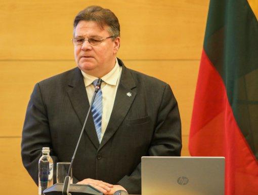 Užsienio reikalų ministrui atliktas tyrimas dėl koronaviruso