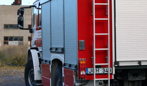 Per avariją Klaipėdos rajone į kanalą išsiliejo teršalai