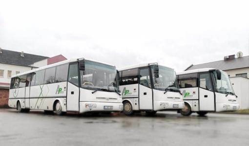 """""""Mažeikių autobusų parkas"""" įsigijo naujų autobusų"""