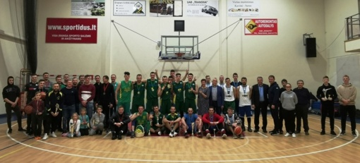 Paaiškėjo atvirųjų Pagėgių savivaldybės vyrų krepšinio pirmenybių nugalėtojai