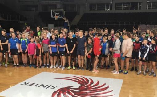 Lazdijų sporto centro auklėtiniai dalyvavo stalo teniso jaunučių pirmenybių atrankinės varžybose Alytuje