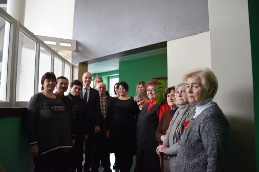 Vilkaviškio kurčiųjų pirminė organizacija įsikūrė naujose patalpose