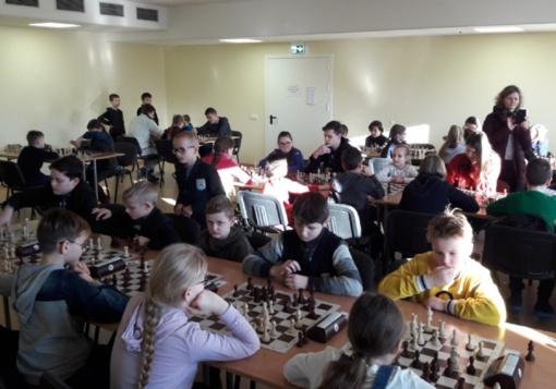 Švietimo įstaigų šachmatų pirmenybės